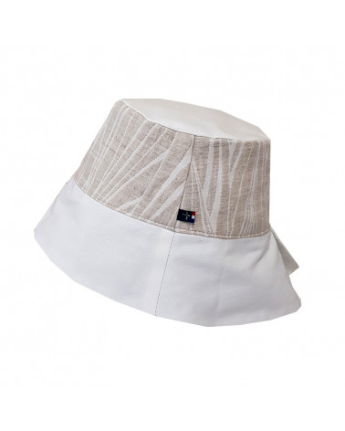 Chapeau anti-ondes lin chanvre
